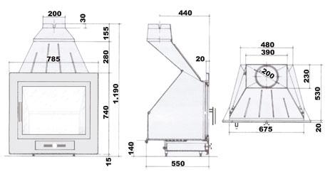 H-02 22 dimensões